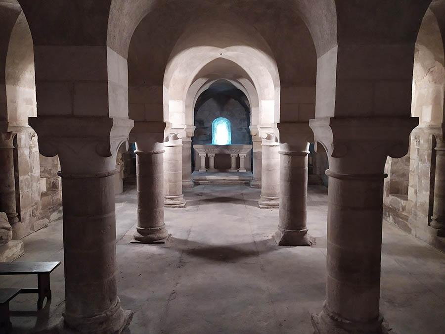 Crypte - Église Notre Dame - ©Ludovic Géron